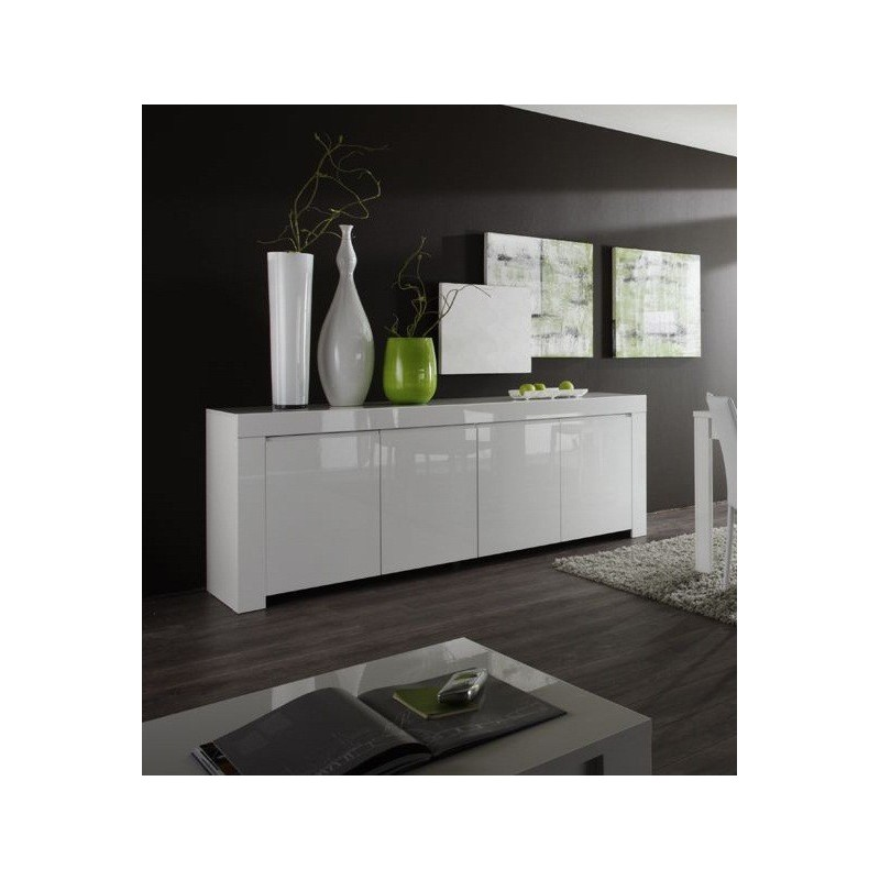 amalfi iii gloss sideboard amalfi range sena home. Black Bedroom Furniture Sets. Home Design Ideas