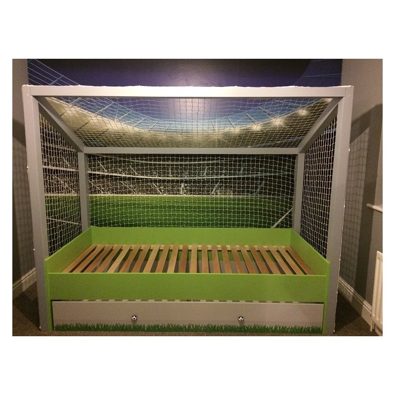Football - goal bed - Beds - Sena Home Furniture