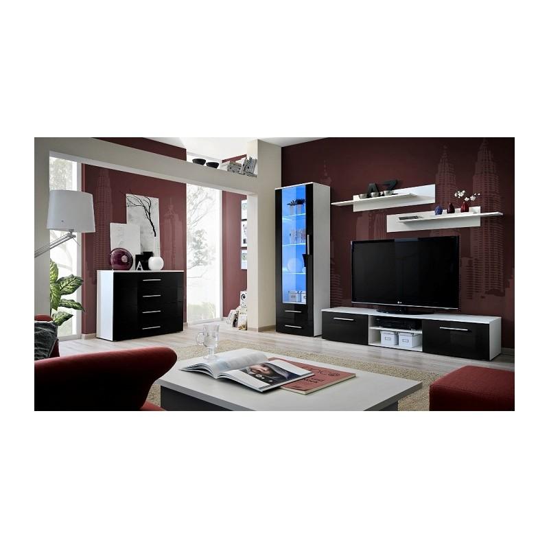 giallo b lounge set wall units sena home furniture. Black Bedroom Furniture Sets. Home Design Ideas
