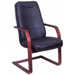 Cambridge Lux - Conferencial leather chair
