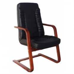Sandringham leather Conference chair