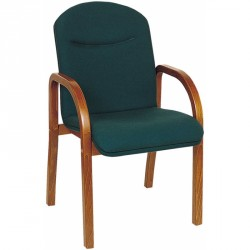 Neptune wooden visitor chair