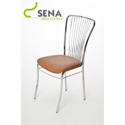 Nero - Chrome Kitchen / Dining Chair