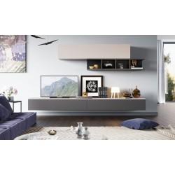 Creatio VI - mat lacquer wall set