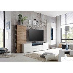 Lima II -large high  gloss lacquered tv unit