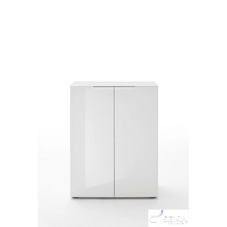 Lima - high gloss shoe cabinet