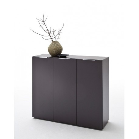 Lima II - anthracite shoe cabinet