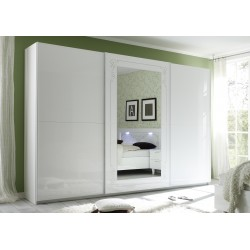 Mila III - large wardrobe with sliding doors