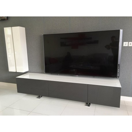 Castor - bespoke TV Unit series in various colours and sizes