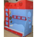 WAVE DOUBLE BUNK BED
