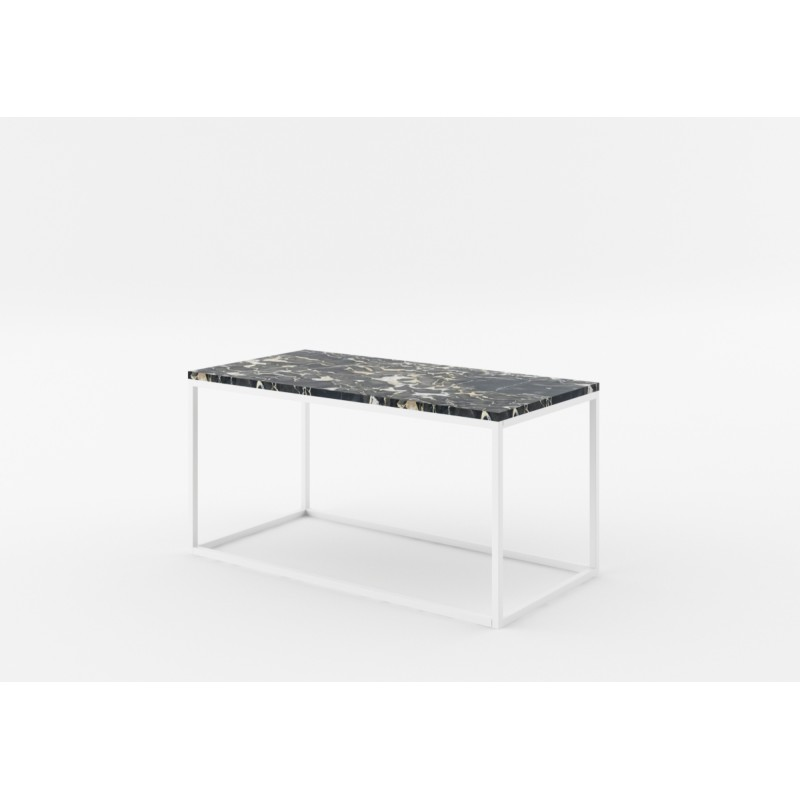 Natural Stone Coffee Table: Rectangular Natural Marble Coffee Table