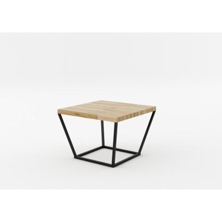 NOi Oak - square natural oak coffee table