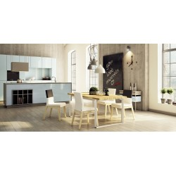 Lauris- modern solid wood dinning table