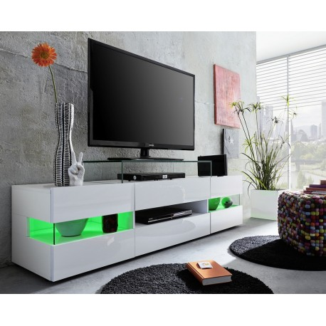Sonic Tv Stand With Optional Led Lights Tv Stands