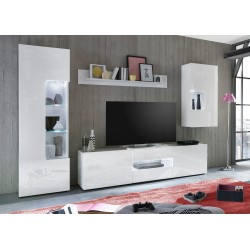 Imola - white lacquered wall set