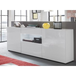 Imola - lacquered sideboard with optional LED lights
