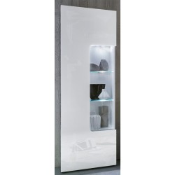 Imola - lacquered display cabinet with optional LED lights