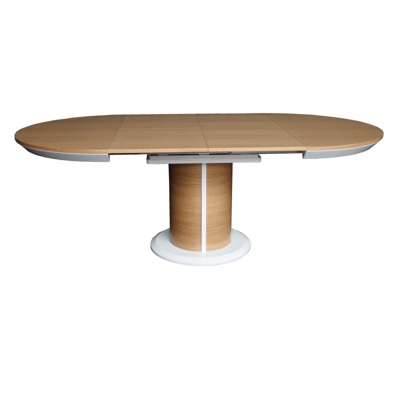 Impact II large oval extending dining table Dining  : impact ii large oval extending dining table from sena-homefurniture.co.uk size 800 x 800 jpeg 26kB