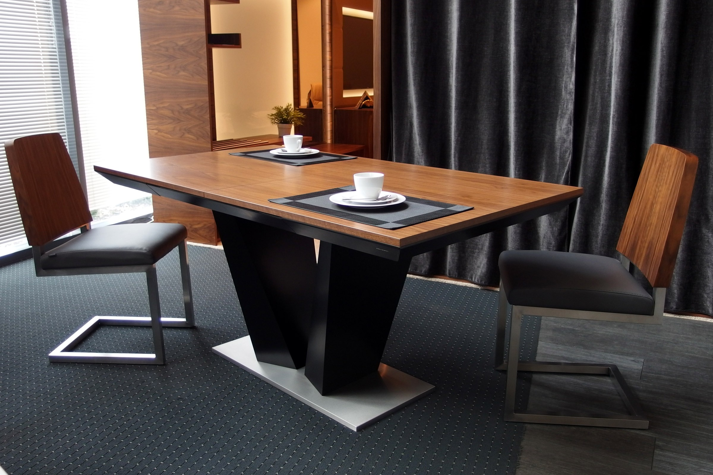 dcfa7f53fbf0 Impact bespoke extending dining table - Dining tables (2287) - Sena Home  Furniture