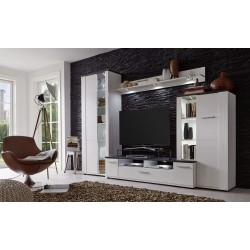 Dakota - wall unit with modern wood decor