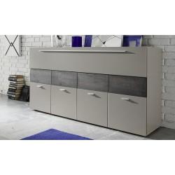 Line - beige matt chest of drawer