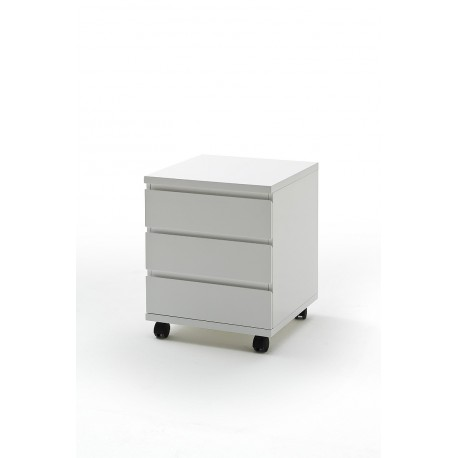 Sydney IV - high gloss 3 chest of drawers