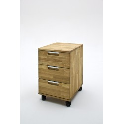 Lukas - 3 chest of drawers in oak finish