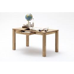 Lukas II- office desk in solid oak finish