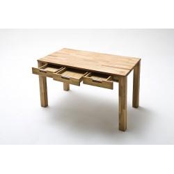 Lukas III- office desk in solid oak finish