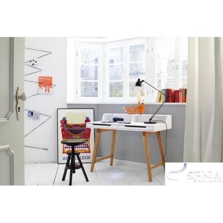 Tomi - office desk in matt lacquer finish