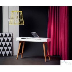Milan - office desk in matt lacquer finish