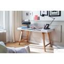 Milan - office desk in matt lacquer finish
