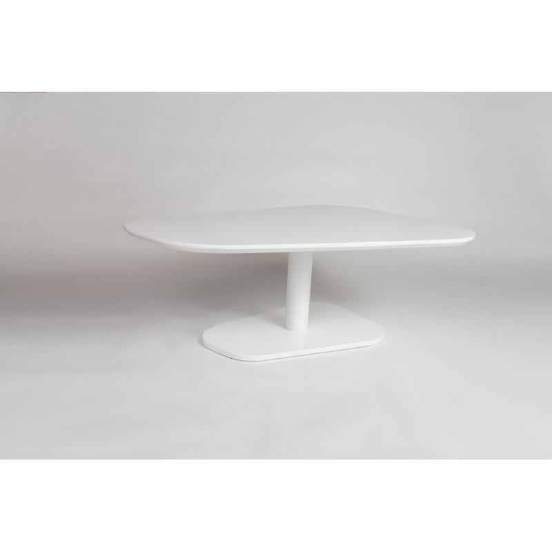 Boris White Lacquer Coffee Table Coffee Tables Sena Home Furniture