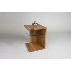 Lilli II -natural oak side table