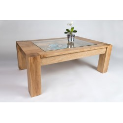 Ole - solid wood coffee table,natural oak