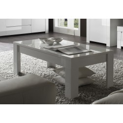 Amalia white coffee table