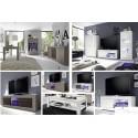 Dolcevita- 3 door white gloss sideboard