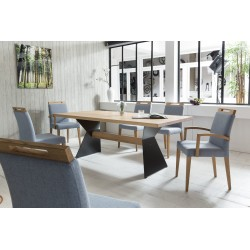 Leyla - solid wood dining table
