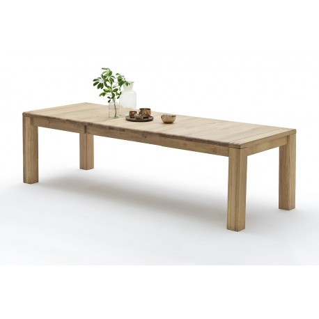 Dorian - solid wood extendable dining table