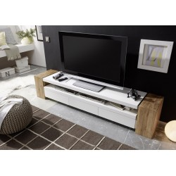 Jule - solid oak and lacquer TV stand