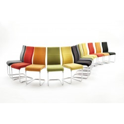 John - colourful dining chair