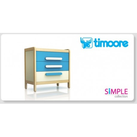 SIMPLE - THREE DRAWER CHEST