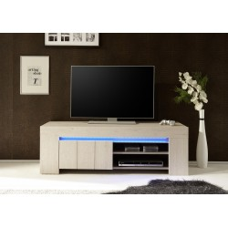 Palmira I -  small TV unit in rose beige finish
