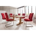 Dante - solid oak dining table in various sizes