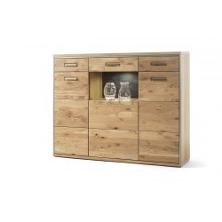Blanca II assembled solid wood sideboard