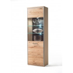 Blanca I -  solid wood display cabinet