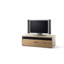 Blanca assembled solid wood small TV Unit