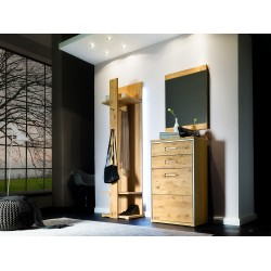 Blanca I -  solid wood hallway set