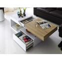 Honey - gloss coffee table with oak sonoma finish