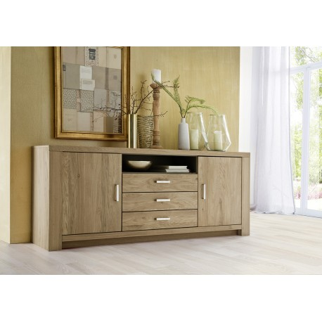Prato - solid wood sideboard - Prato - Solid Wood Sideboard - Modern Wood Collections - Sena Home